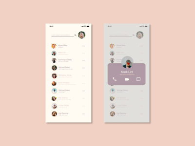 Pop-Up / Overlay Interface