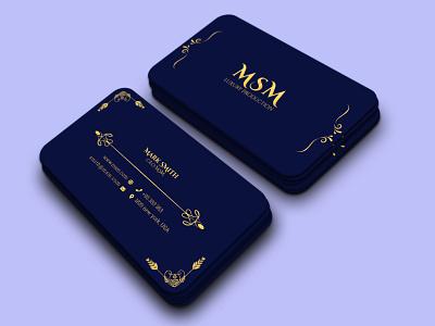 Luxury Premium Business Card Design By Ramim On Dribbble