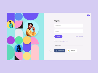 Sign Up form - Adobe XD Playoff branding design clean design minimal prototype pattern rahul kumar adobe xd playoff createwithadobexd branding ux ui typography 2020 ui trends design rkhd login signup sign in