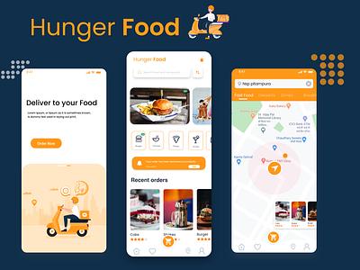 Food App 2020 Order you food branding typography illustration design rkhd food order restaurant app home screen ui 2020 trend
