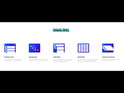 BigCommerce Catalog Tools catalog product ecommerce design purpose principle bigcommerce branding illustration