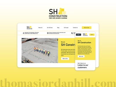Web Design - SH Construction