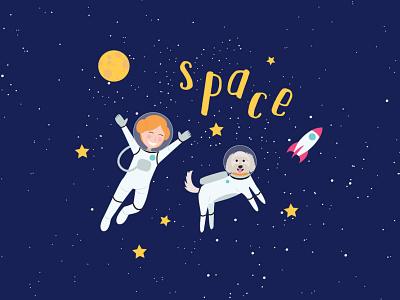 Space - Tiny Tina Music cover art digital drawing digital illustration space illustration space