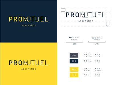 Promutel rebrand branding identity brand identity logo logotype