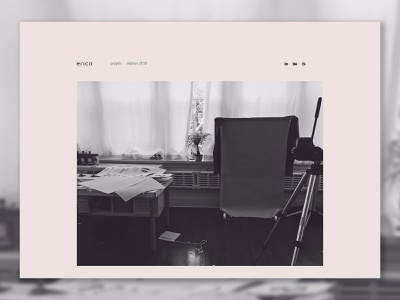 portfolio - landing page branding minimalist design landingpage web design webdesign web simple design simple website portfolio minimal
