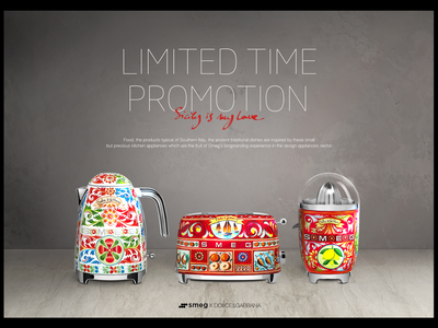 Smeg's collaboration promotion main image.