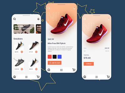 A Concept E-commerce App ecommerce design ecommerce app mobile ui mobile app app quality💩design qualityshitdesign adobexd ui design