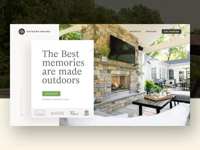 Marketing site — Outdoor Dreams