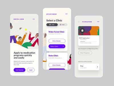Mobile designs app design progressive web app purple product design product user experience ui  ux mobile design mobile app