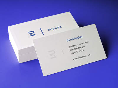 Business cards print purple blue typography logo minimal business card business cards