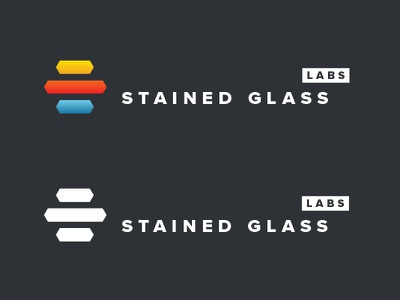 Stained Glass Labs blue logo uppercase red yellow glass google google glasses labs black and white color entrepreneurs vc feedback comments wearableworld