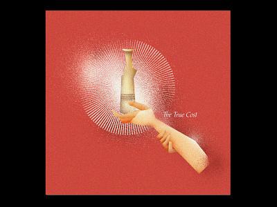 The True Cost (Holy Wednesday) conceptual illustration jesus alabaster flask alabaster alabaster jar