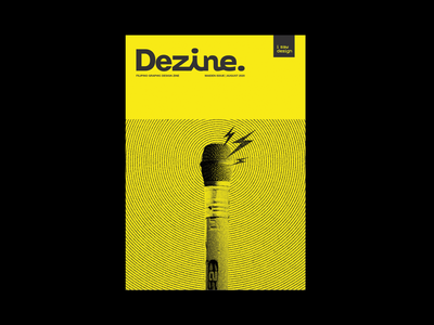 Dezine - Philippine Graphic Design Zine philippines filipino design typography swiss design design history graphic design i saw design ph zinegraph zines dezine zine book cover