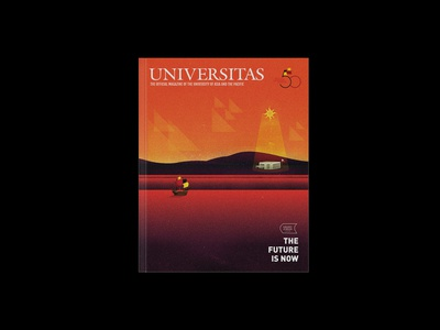 Universitas, October 2018 (Magazine Cover)