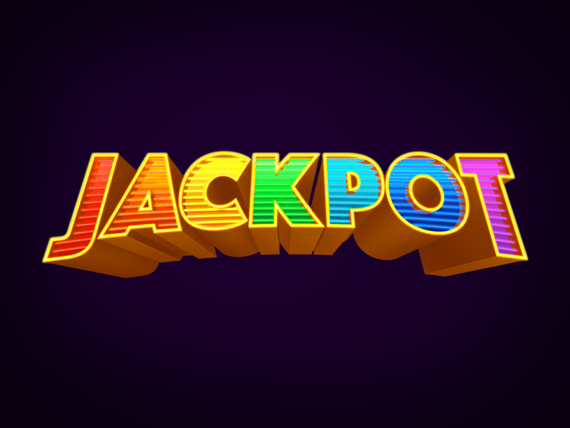 Jackpot Text by Hanna Ensor | Dribbble | Dribbble
