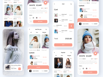 Fashion shopping Mobile app iphone app ios product design product app design apperal clothing fashion ecommerce design ecommerce shop mobile design mobile ui mobile ux ui