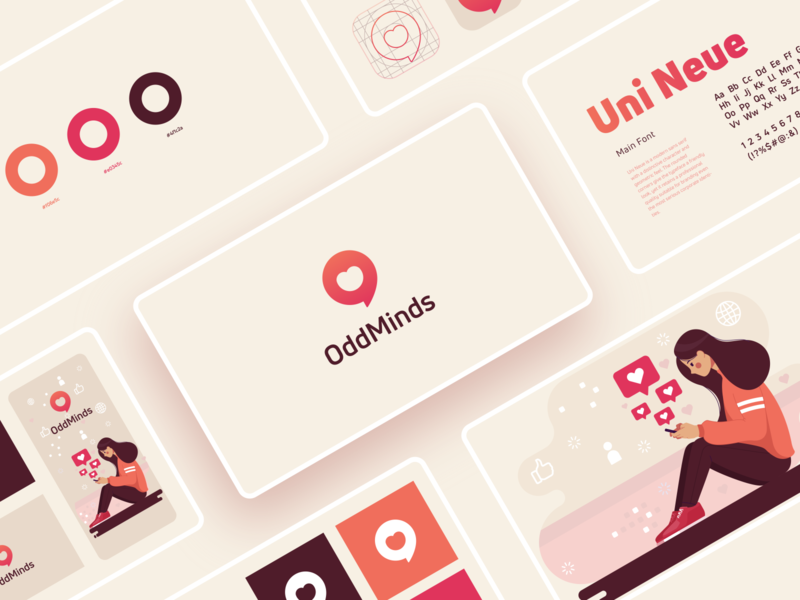 OddMinds Brand guidelines