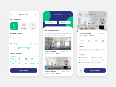 Home rent app real estate purchase sale property rent property house rent home rent house home mobile ui mobile ux ui