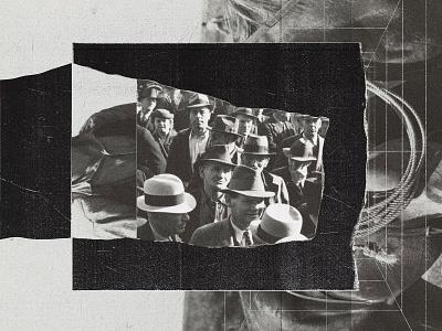 C110 collage artwork found photo editorial digital collage cut paper ephemera sketch collage