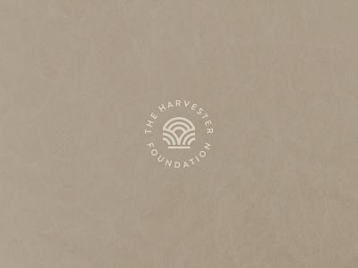 THF - Unused lockup sun wheat harvest church planting midwest foundation badge identity brand identity logo