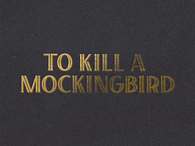 Lettters inline type inline custom type letters to kill a mockingbird