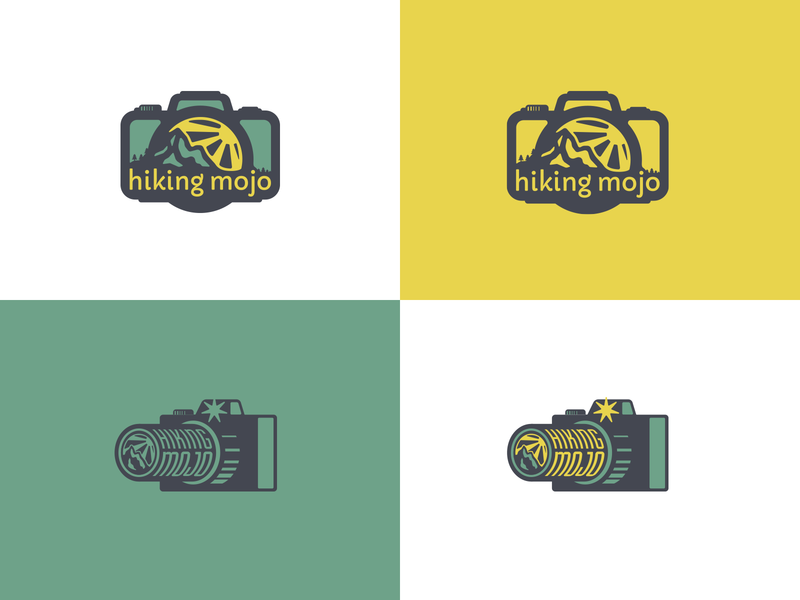 Hiking Mojo nature exercise mojo colorado mountain hike camera logo