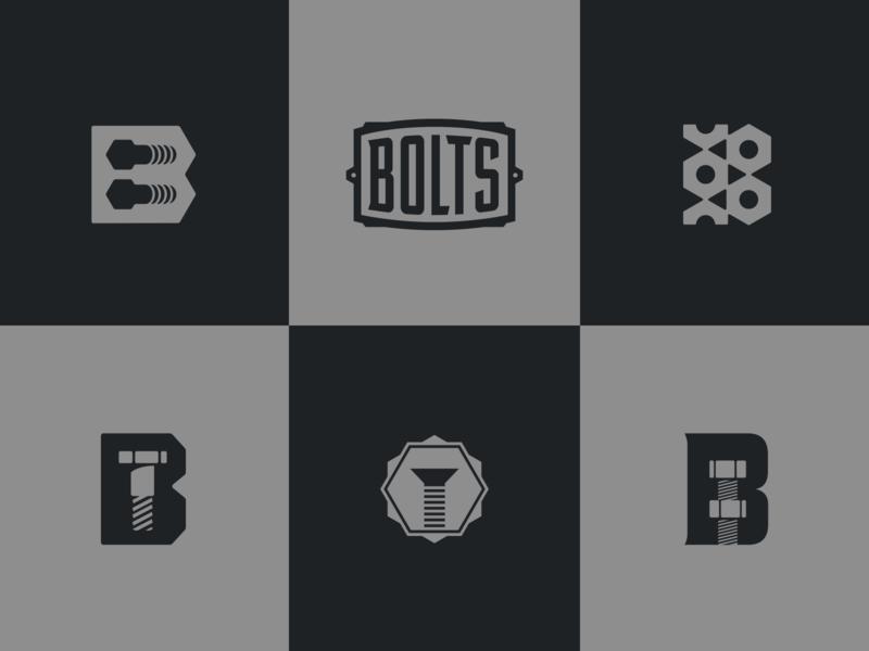 Boltzzz b fabrication industrial metal bolts nuts logo bolt