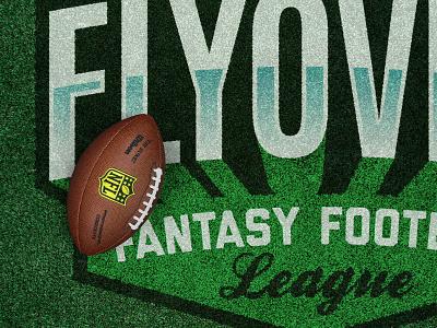 FFFL Turf badge sports nfl turf fantasy football football