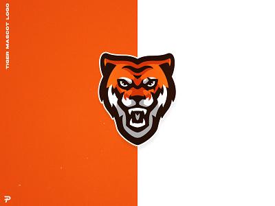 Tiger Mascot logo mascot logo illustrator illustration mascotlogo mascot tiger