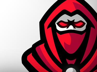 Masked Ninja logo masked ninja illustration mascotlogo