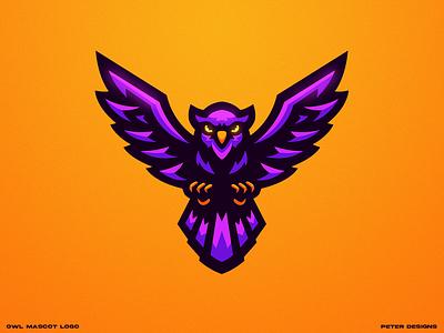 Owl mascot logo owl logo mascot logo owl illustration