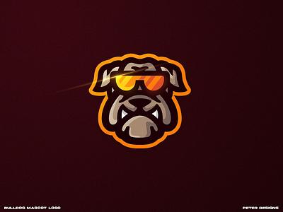 bulldog dog logo logo bulldog mascotlogo