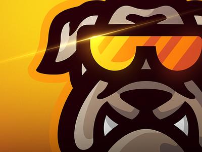 BullDog mascots logos bull dog mascot logo