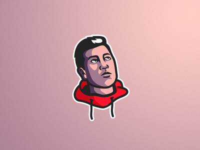 George 3.0 100 t illustrator mascot logo mascotlogo illustration face mascot logo face