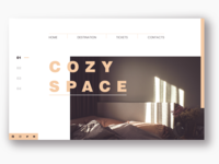 Cozy Space landing page