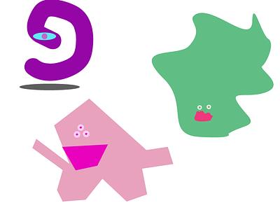 Monsters design monster cute kids illustration illustration