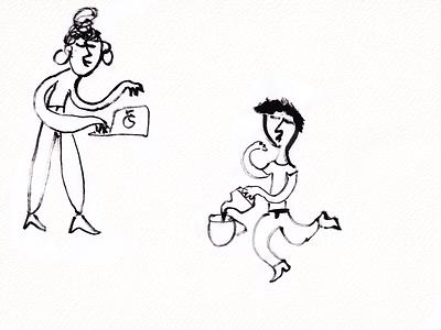 love and work 2021 work love man boy woman girl kids illustration illustration