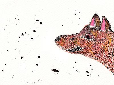 Dog and stars 2021 art sketch stars dog kids illustration illustration