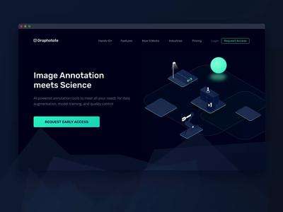 Graphotate – Image Annotation App 🔬 science beta design illustration animation machine learning ai annotation data ux ui desktop web application app