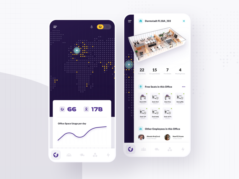 What you can do with Liquid – Vol. 10 - Site Mgmt  Mobile App 📱 iphone pie chart graph button icons card animation office map world healthcare ui ux application app dashboard what you can do with liquid liquid design system