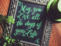 May you live all the days of your life