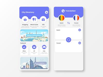 Travel App UI Design icon graphic app app designer app design ui uiux design ui design mockup