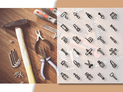 Tools & Constructions Icon