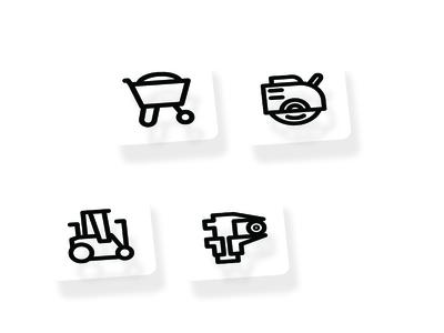 Tools & Construction Line Icon Set
