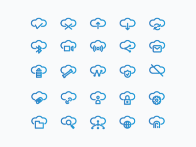 Network Icons ( Line )