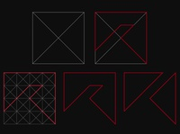 personal ''R'' logo design explanation