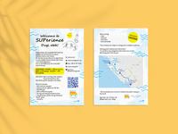 Welcome to SUPerience! qr code zadar explorer travel summertime summer flyer flyer design flyer