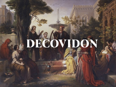 Decameron and Chill 📚 copywriting digitalegoone deo plague literature decameron covid-19 covid coronavirus