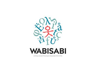 Wabisabi Language School Logo dribbble invite invite inspiration dribblers adobe branding design designinspiration graphicdesign behance dribble creative branding logo design digitalegoone deo