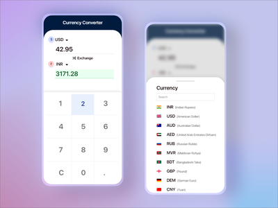 Currency Converter App Design invite exchange translation translate conversation currency exchange converter currency
